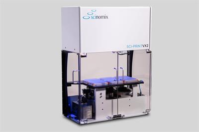 Scinomix - Model Sci-Print Vx2 - Fully Automated Vial Labeling Machine