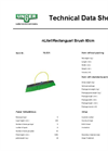 HiFlo nLite - Rectangular Brush  Brochure