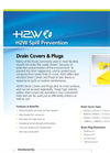 H2W - Drain Covers & Plugs - Sell Sheet