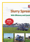 Model SDS 7000 / 7200 - Dribble Bar Slurry Spreader Brochure