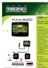 PULVIX - Model 8200 - Sprayer Flowrate Control System Brochure
