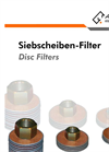 Disc Filters - Datasheet