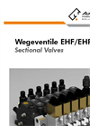 Wegeventile - EHF/EHP - Sectional Valves Technical Datasheet