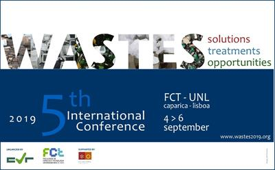 5th Edition of the Conference WASTES: Solutions, Treatments and Opportunities