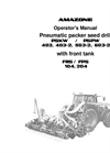 Operation Manual PSKW / PSPW with Front Tank- Brochure