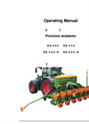 Model ED - Precision Airplanter Brochure