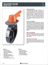 Carrot Top - Isolation Butterfly Valves Brochure