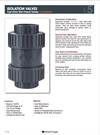 Sharkfellow - Isolation True Union Check Valves Brochure