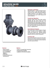 Orca - Isolation Swing Check Valves Brochure