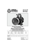 Model AR 45 bp C Viton - Low Pressure Diaphragm Pumps