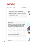 NH3 Flue/Exhaust Gas 300C Sensor Brochure