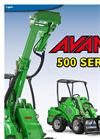AVANT - Model 500 Series - Loader Brochure