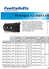 Hydrogen Air Fuel Cell Specifications and Pricing - FuelCellsEtc