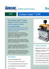 Specac Golden Gate - Single Reflection ATR Accessory - Datasheet