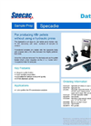 Specac SpecaDie - Self-Contained KBr Pellet System - Datasheet