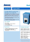 SpecaMill - Sample Grinding for KBR Pellets and Diffuse Reflectance - Datasheet