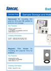Specacard - Sample Storage and Holders Datasheet