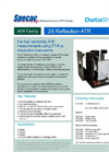 Specac - 25 - Reflection Variable Angle ATR Datasheet