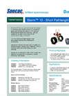 Specac Storm - Series 10 - Short Pathlength Gas Cell - Datasheet
