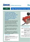 Specac High Temperature Golden Gate - Single Reflection Diamond ATR Accessory Datasheet