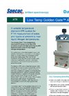 Specac Low Temperature Golden Gate - Single Reflection Diamond ATR Accessory Datasheet
