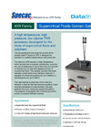 Super Critical Fluids Golden Gate - Single Reflection Diamond ATR Accessory Datasheet