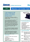 Reaction Cell Golden Gate - Single Reflection Monolithic Diamond ATR Accessory Datasheet
