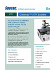 Specac Gateway - Multi-Reflection Horizontal ZnSe ATR Accessory Kit Datasheet