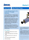 Specac - Mini-Pellet Press - Brochure