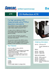 Specac - 25 Reflection Variable Incidence ATR Accessory - Brochure