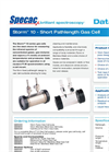 Specac Storm - Model Series 10 cm - Short Pathlength Gas Cell Datasheet