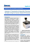 Pharmaceutical Sample Analysis Measuring Volatile  - Application Note