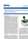 Aggressive Aqueous Solution Study - Application Notes