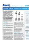 Cyclone Series - Heatable Long Pathlength Gas Cells - Datasheet