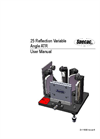 Specac - 25 Reflection Variable Incidence ATR Accessory - User Manual