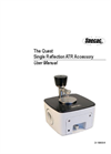 Specac - Quest Single Reflection ATR Accessory - User Manual