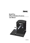 Specac - Minidiff Plus Diffuse Reflectance Accessory  - User Manual