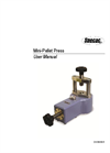 Mini-Pellet Press - User Manual