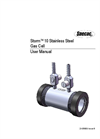 Storm 10 Stainless Steel Gas Cell - User Manual