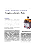 Automotive Fluid Analysis (Golden Gate ATR) - Application Note