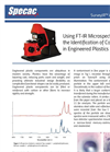 Analyze Engineered Plastics Using FTIR Micro-Spectroscopy - Application Note