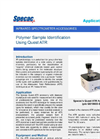 Polymer Identification (Quest ATR) - Application Note