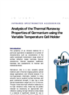 Thermal Runaway Analysis (Ge Variable Temperature Cell) - Application Note