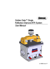 Specac Golden Gate - Single Reflection Diamond ATR System - User Manual