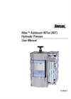 Atlas Autotouch 40T Press - User Manual