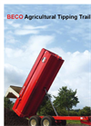 BECO Agricultural Tipping Trailers - Brochure