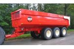 Beco  - Model Super Tri-axle Series - Agricultural Tipping Wagon