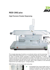 Model REDI Plus - High Precision Powder Dispensing and Weighing System Brochure