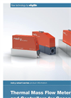 red-y smart Series - Mass Flow Meters and Controllers Brochure