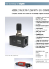Vögtlin - Model M-Flow micro - High-Precision Control Needle Valves Brochure